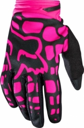 Dámské MX rukavice Fox Racing Wmn Dirtpaw Glove Black/Pink